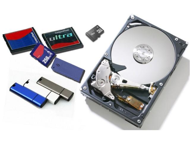Как восстановить данные с флешки, жесткого диска, карты памяти